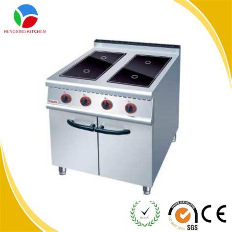 Commercial Kitchen Appliance 4 Zone Ceramic Glass