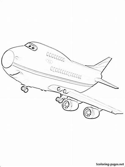 Wings Super Wing Pages Coloring Passenger Airplane