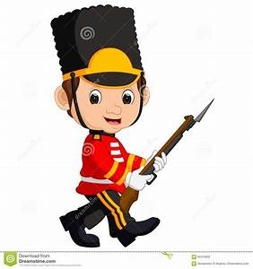 Royal Guards clipart cartoon - Pencil and in color royal ...
