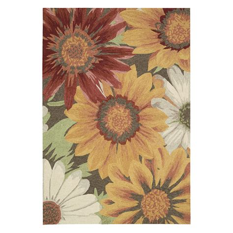 Sunflower Area Rug by Nourison South Sou06 Area Rug Sunflower At Hayneedle