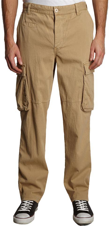 bliss  mischief ripstop surplus cargo pants  natural