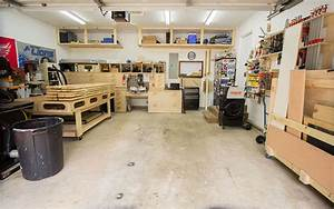 2 Car Garage Woodshop – Shop Tour 2015 | Jays Custom Creations