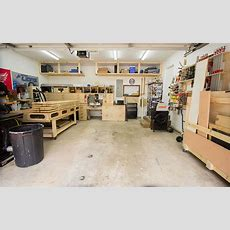 2 Car Garage Woodshop  Shop Tour 2015  Jays Custom Creations