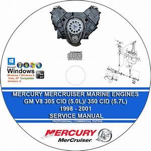 Mercury Gm 305 Cid 350 Cid 5 0 5 7 1998
