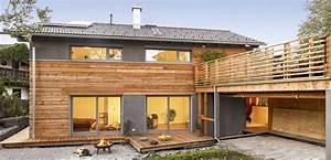 Haus Mit Holzverkleidung : schickes landhaus im modernen alpenstil von regnauer hausbau wohnung h user einrichtung ~ Bigdaddyawards.com Haus und Dekorationen