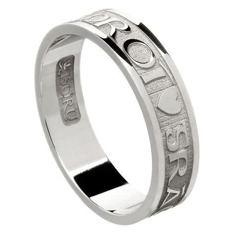 love of my heart white gold wedding ring irish wedding rings rings from ireland