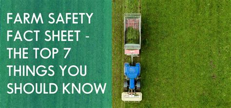 farm safety fact sheet  top