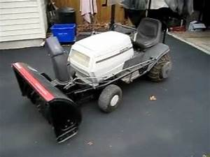 1996 White  Mtd  40 U0026quot  Tractor Snowblower