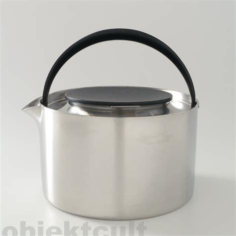 stelton teekanne stelton erik magnussen teapot kettle inox 1 6l teekanne wasserkessel top rar 80s ebay