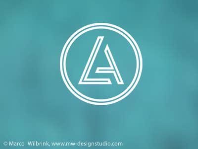 la initials logo   mw design studio marco wilbrink dribbble