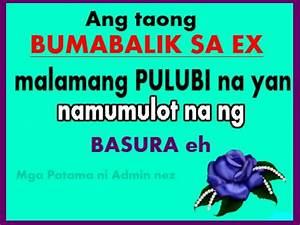 Ex Love Quotes ... Linoko Ng Boyfriend Quotes