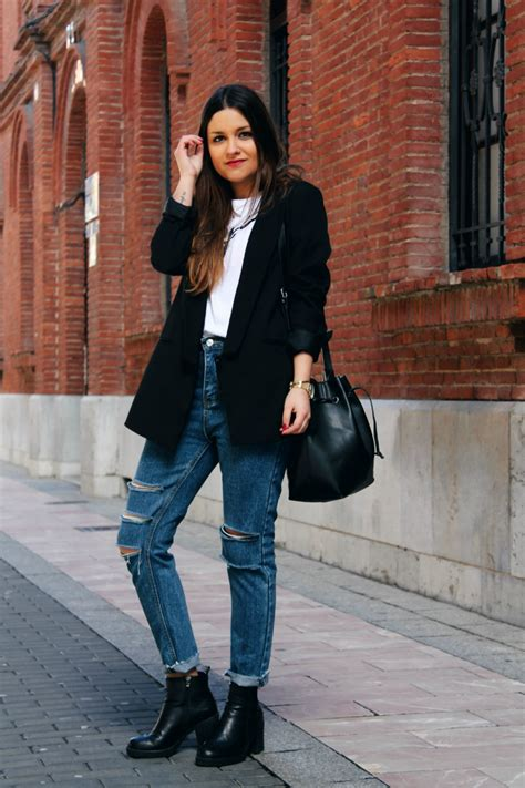 Outfits Con Jeans Y Botines