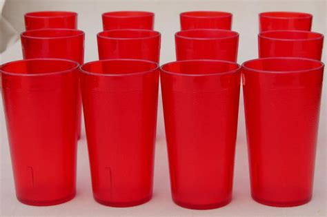 Set Of 12 Retro Red Plastic Restaurant Drinking Glasses, Unbreakable Tumblers How To Find The Best Plastic Surgeon For Rhinoplasty 16 Oz Measuring Cups With Lids Paint Outdoor Furniture Desert Surgery Center Las Vegas Reviews Twins Couch Covers Australia Nose Surgeons Oval Party Tubs