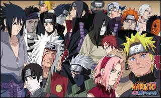 Naruto Shippuden All Characters