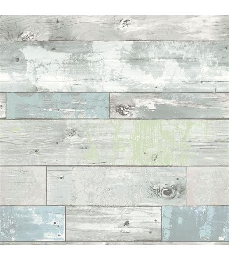 wallpops nuwallpaper beachwood peel and stick wallpaper wallpaper