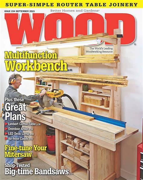 wood issue  september  woodworking plan  wood magazine diy pinterest