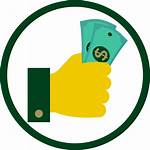 Financial Icon Aid Clipart Support Fund College