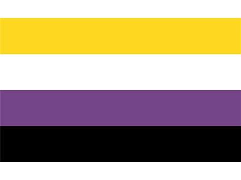 lgbt  binary pride flag  banners xft cm