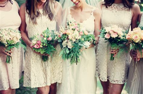 Lace Bridesmaid Dresses  Top Bridal Picks For Vintage Or. Navy Blue Wedding Dress Plus Size. Pink Wedding Gowns Allure Couture. Celebrity Wedding Gown Inspiration. Plus Size Wedding Dresses Plus Size Models