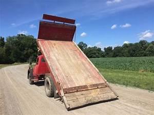 1970 Ih International Loadstar 1600 Flatbed Tilt Dump