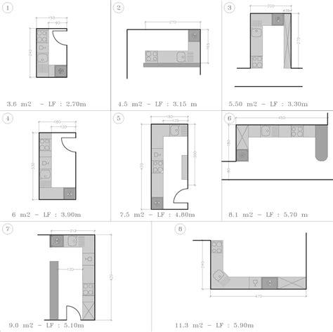 plan cuisine en l cuisine disposition en l studio d 39 archi le d