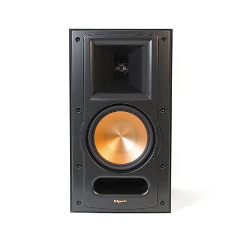 klipsch bookshelf speakers klipsch rb 61 ii bookshelf speakers pair black 1011852 b h