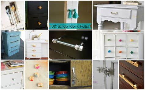 Low Cost DIY Drawer Pulls, Knobs And Handles You Can