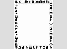 Free Miscellaneous Borders Clip Art, Page Borders, and
