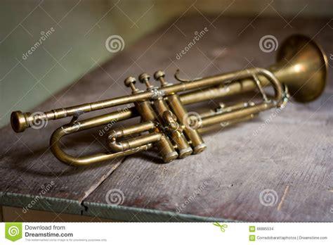 jazz trumpet stock photo image