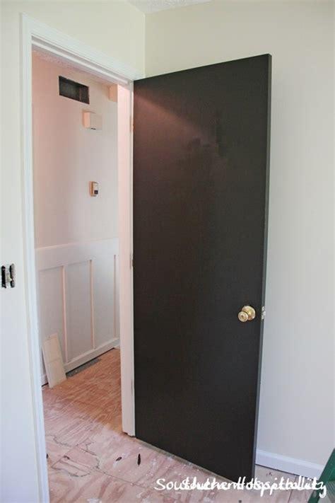 hometalk painting interior doors brown black