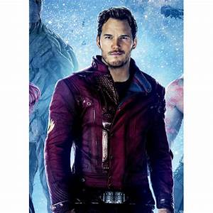 Peter Quill Guardians of The Galaxy Star Lord Leather ...