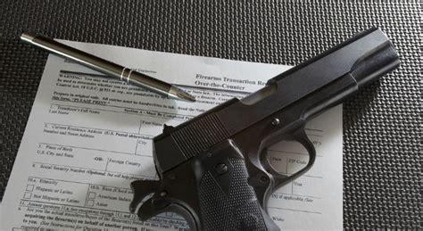 Background Checks For Guns Mental Health Background Checks For Permit Applications