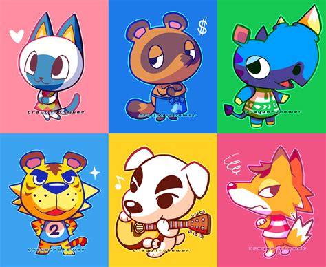 animal crossing villagers  crayon chewer  deviantart