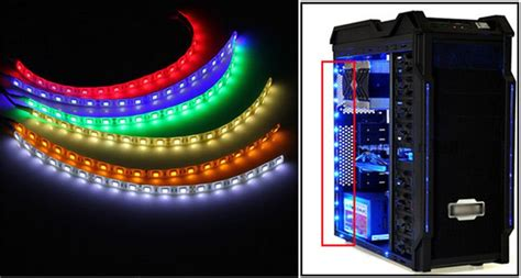 Computer Lights by Big Promotion 60cm 18 Led 5050 Smd Pc Computer