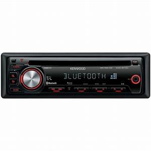 Kenwood Kdc-bt30 Bluetooth Car Stereo Front Aux Input Cd  Mp3