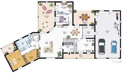 plan maison 4 chambres gratuit plan de maison plain pied 4 chambres gratuit gallery of