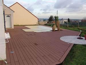Lame De Terrasse Composite Longueur 4m : construction terrasse composite geolam 173 messages page 5 ~ Melissatoandfro.com Idées de Décoration
