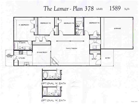 home plans single baby nursery one level floor plans small one house