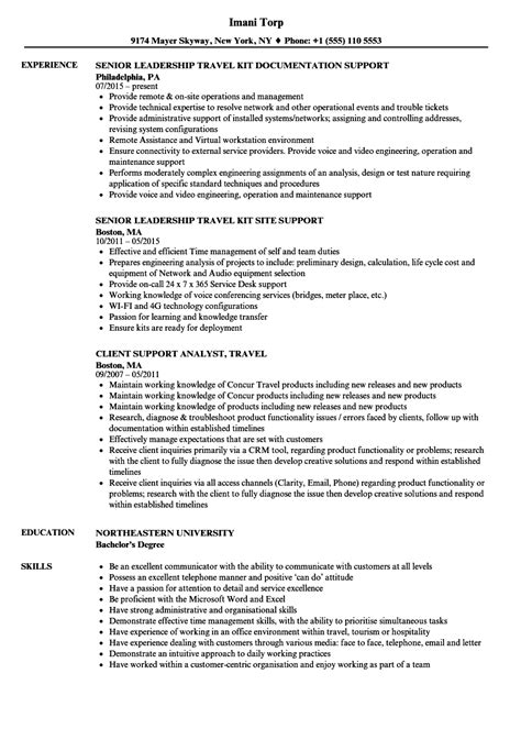 data analysis resume for 1 year experience travel account