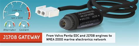 yacht devices j1708 engine gateway for volvo penta edc and j1587 engines