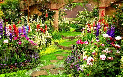 Spring Flower Gardens Wallpaper