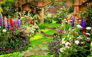 Country Garden Wallpaper