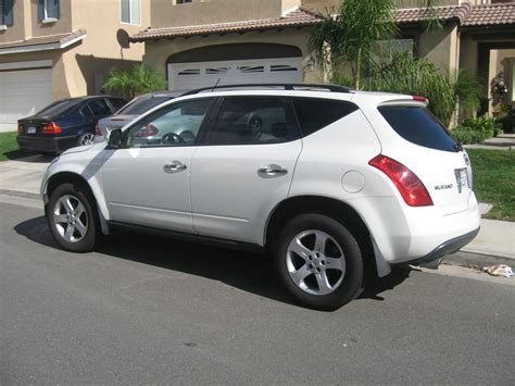 2005 Nissan Murano Reviews by 2005 Nissan Murano Sl Awd Overview