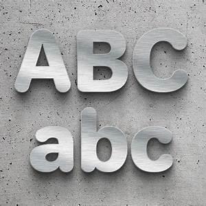 Buchstaben Zum Aufkleben : metallbuchstaben aus edelstahl in wunschgr e ~ Watch28wear.com Haus und Dekorationen