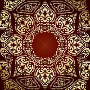 Indian Wallpaper Pattern Gold - image #174
