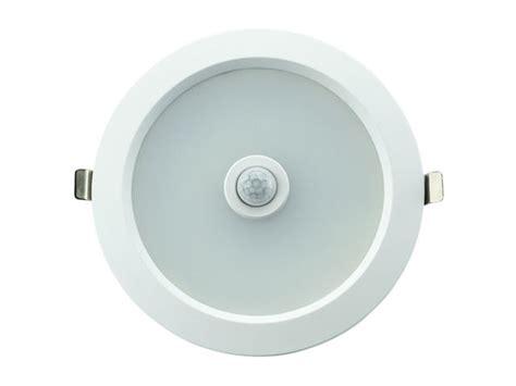 spot encastrable led int 233 gr 233 e dimmable d 233 tecteur de mouvement infrarouge 190 mm 8 w
