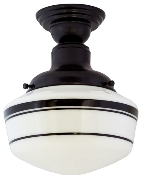 black semi flush mount ceiling light cernel designs
