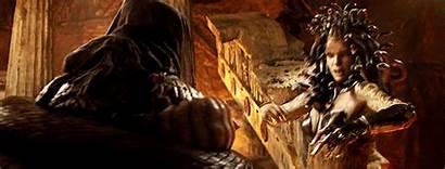 Titans Clash Medusa Greek Reblog Mortal