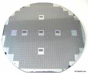 Silicon Wafers - Vintage Computer Chip Collectibles ...