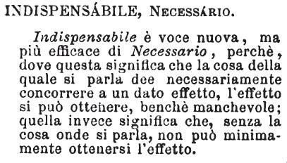 Dispensare Sinonimi by Indispensabile Dizionario Significato E Curiosit 224